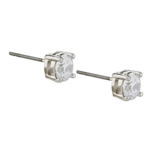 ad758a4ae Cubic Zirconia Stud Earrings - Clear