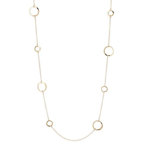 e5aadb529206 Ringed Necklace - Gold