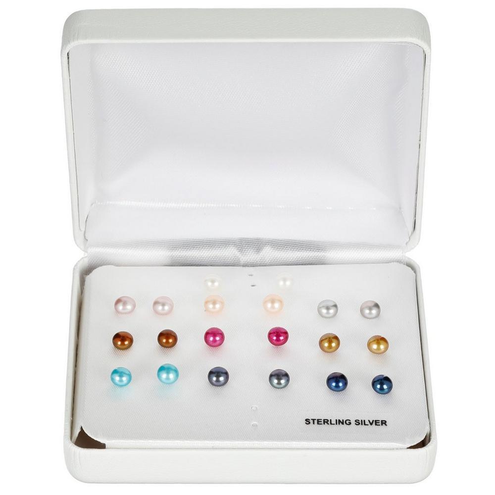 3594bd66faead Sterling Silver Stud Earring Set