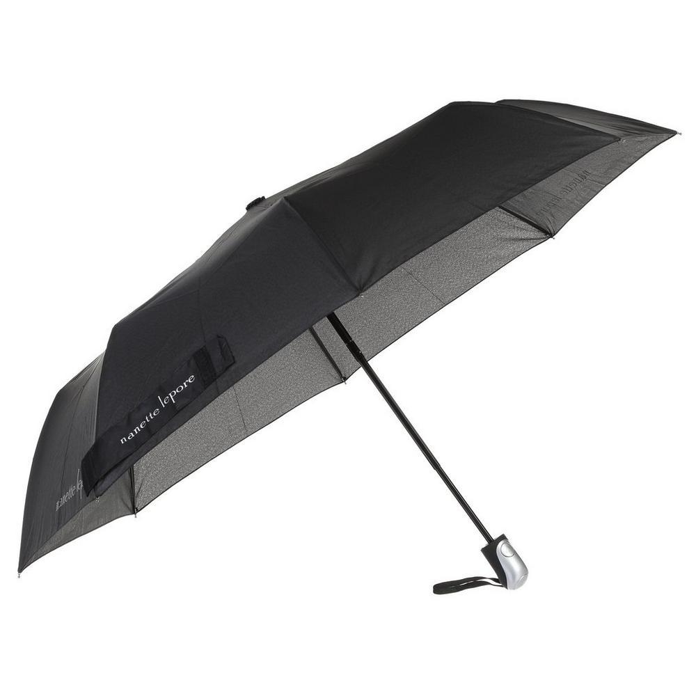 f0048c473253 Compact Auto Open Umbrella - Black