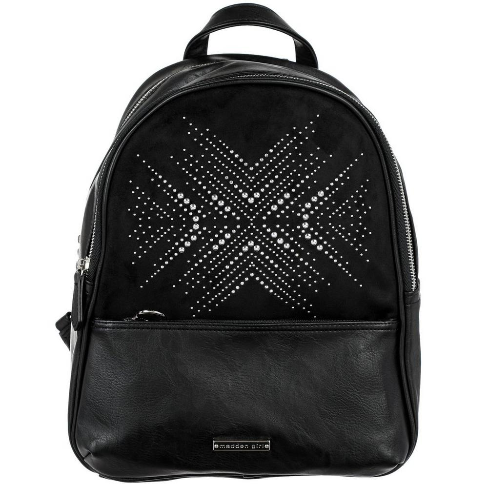 Studded Fashion Backpack - Black  1dbefe3451eb0