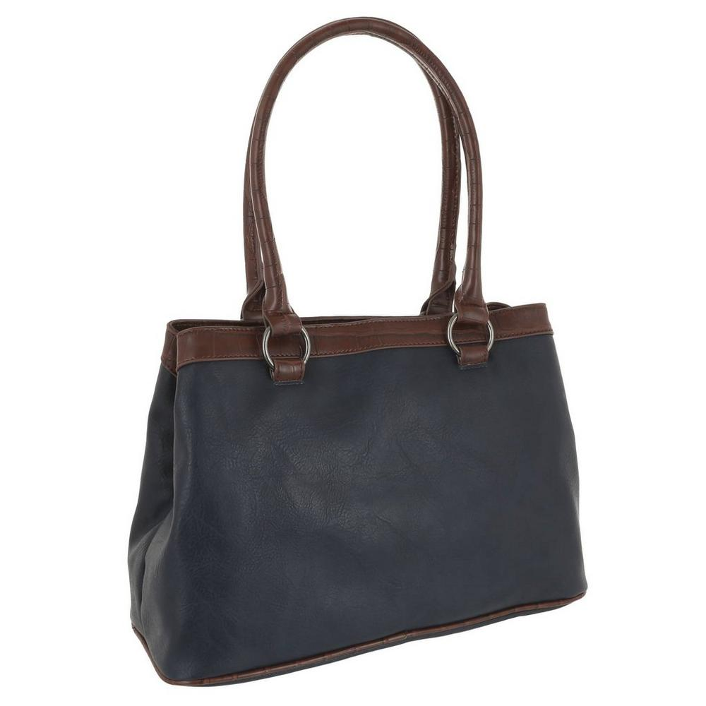 3b00be56d76da5 ... Cut Out Medallion Tote - Navy Multi. Click to zoom