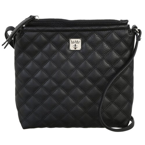 Adrian Quilted Crossbody - Black 857267b287