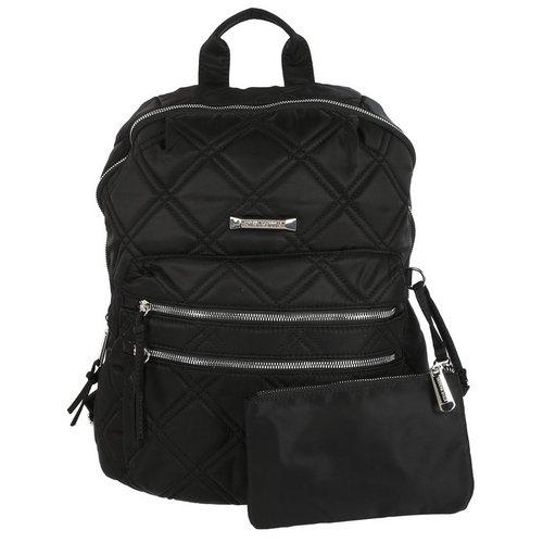 21de59fd Envoy Quilted Fashion Backpack - Black