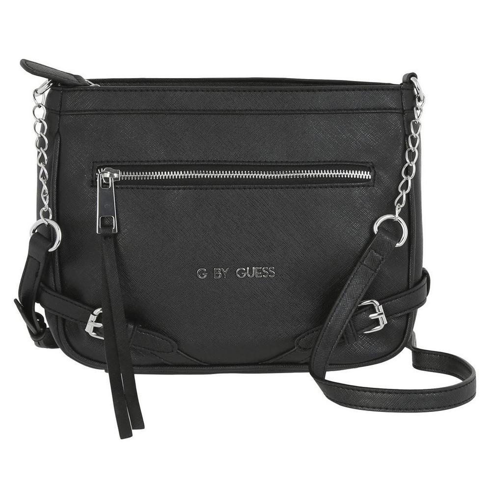 2a49c9ddc622 Dewitt Faux Leather Crossbody - Black