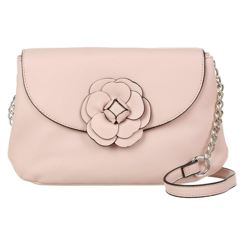 Francesca Flower Embellished Crossbody - Pink  2028225fad672