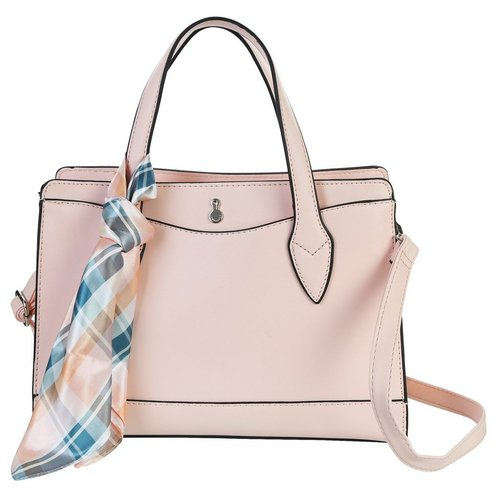 2e99d106d1640 Square Pocket Front Mini Satchel - Rose Mauve