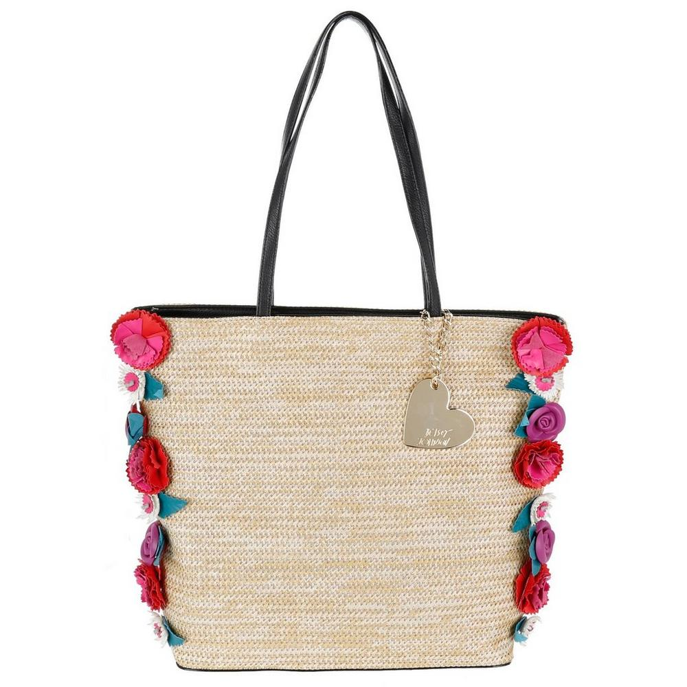 1d72a2c7162bec Gypsy Rose Tote - Natural | Burkes Outlet
