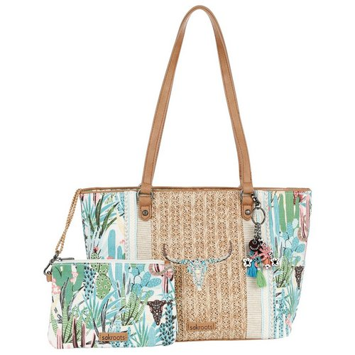 Mojave Mirage Woven Tote - Natural Multi. More Sizes. Add to bag 4e1b27cd12224