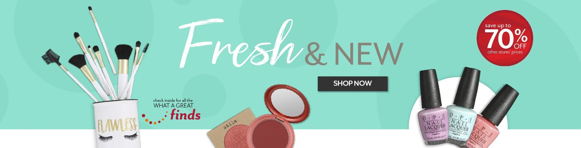 Shop the latest trends in Beauty at Burkes Outlet