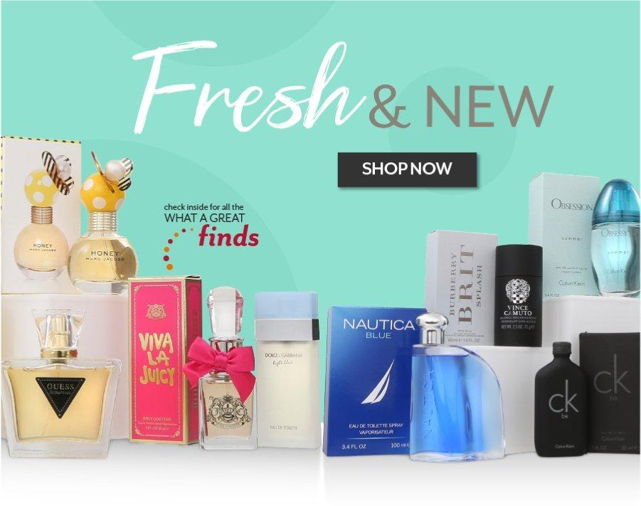 Shop Fresh and New - Beauty Every Day at Burkes Outlet