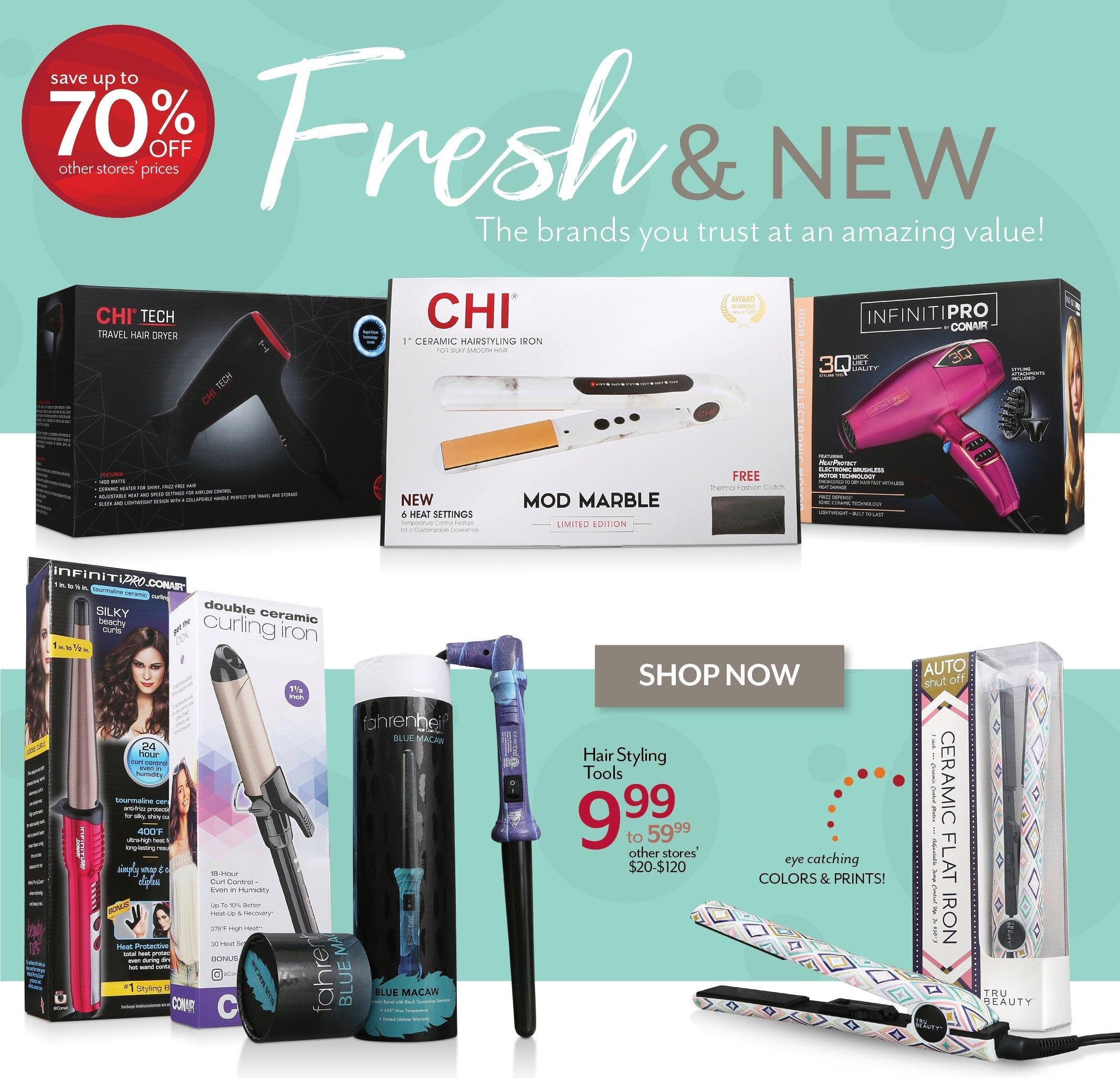 Shop Hair Styling Tools