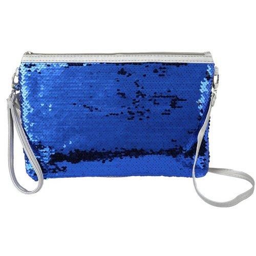 Reverse Sequin Crossbody - Blue 92f503e27ab04