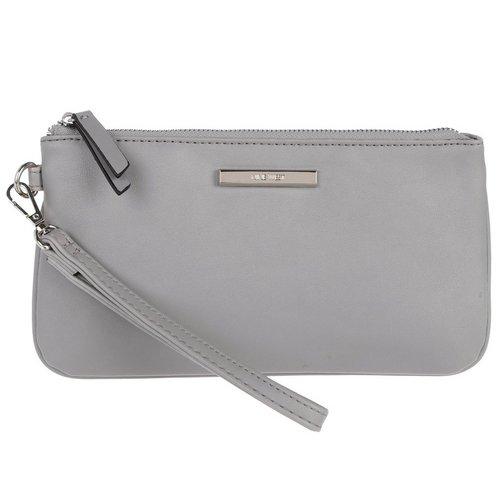 927173ed04 Vegan Leather Haute Holiday Wristlet - Grey