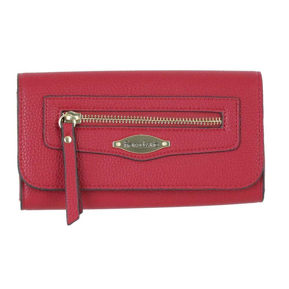 731c45a24a9 Leila Flap Wallet - Red