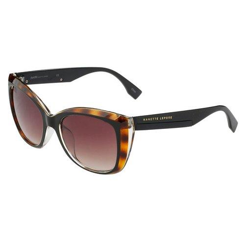 8d43fa0c0d 2-Tone Cat Eye Sunglasses - Tortoise Black