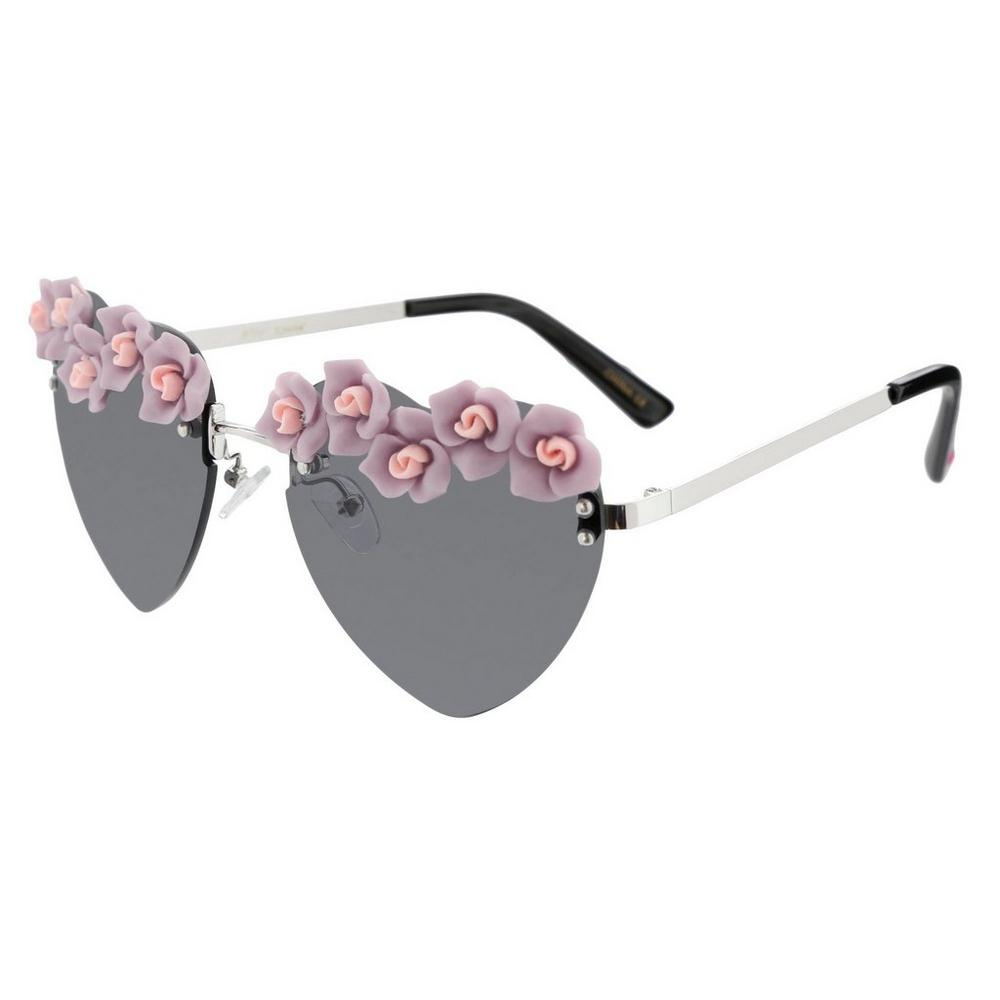 0de3d82b1e3da Hearts   Flowers Sunglasses