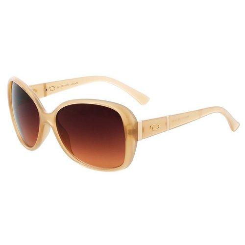 9c7b0238f5d Oversized Frame Sunglasses - Nude