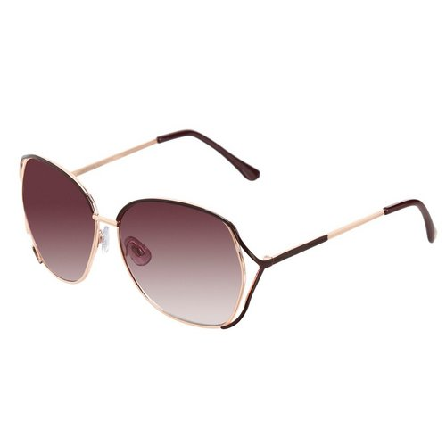 9b17c0b69c Vented Metal Frame Sunglasses - Gold