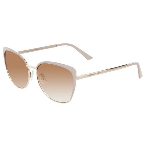 2e7d496097 Cat Eye Metal Frame Sunglasses - Nude