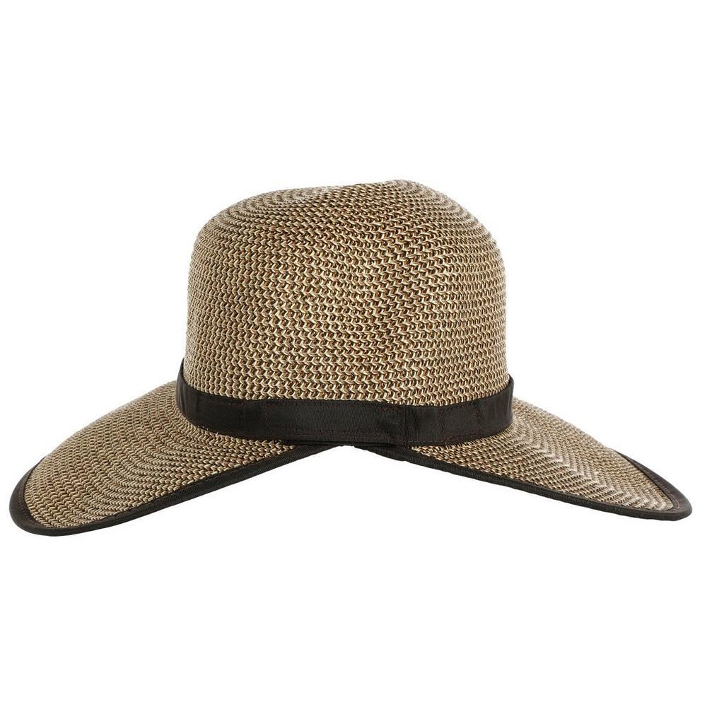 a3cf907372a20c Fashion UPF Sun Hat - Natural/Black   Burkes Outlet