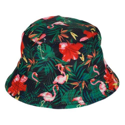 cd46172d2e2 Tropical Flamingo Bucket Hat - Multi