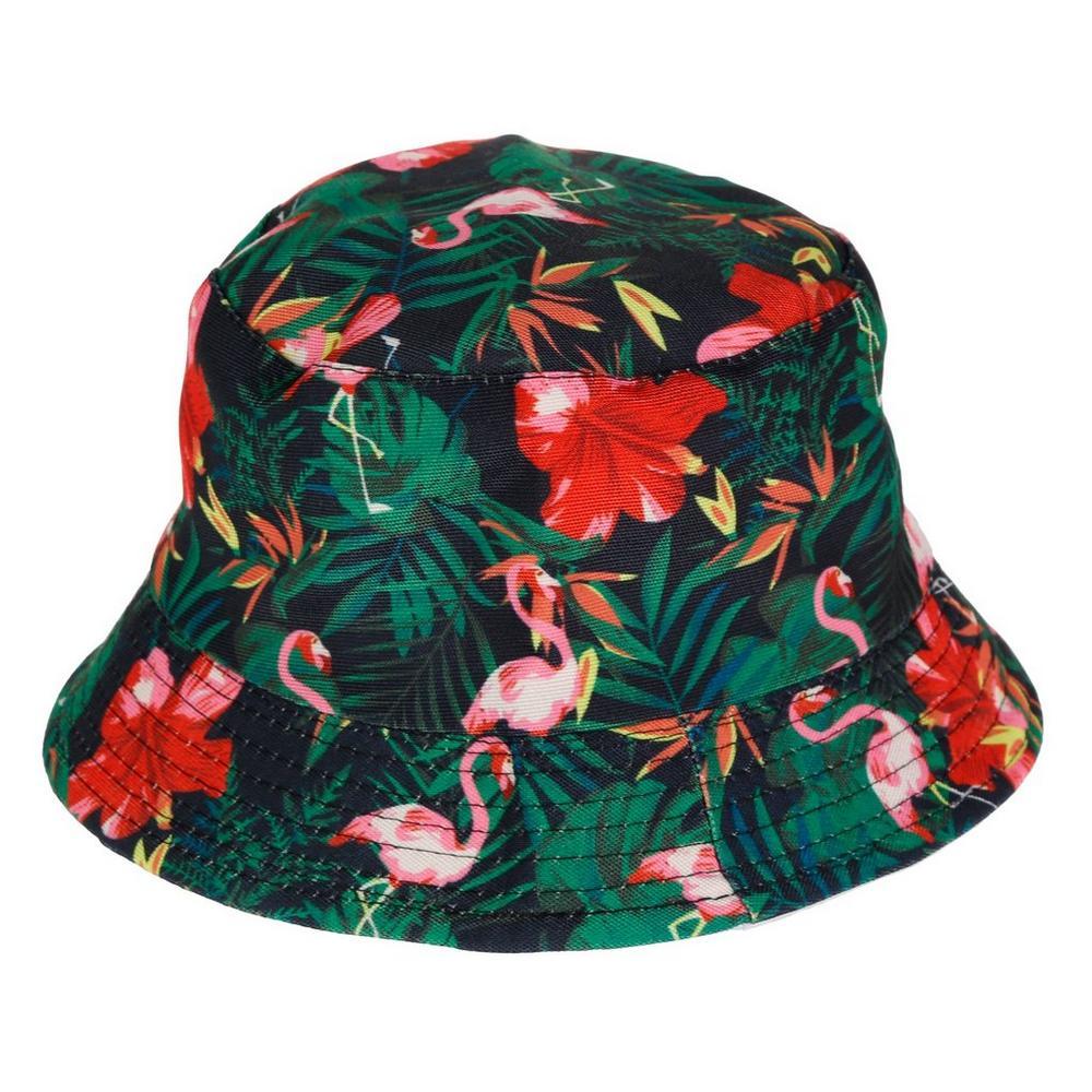 d96454d0 Tropical Flamingo Bucket Hat - Multi | Burkes Outlet