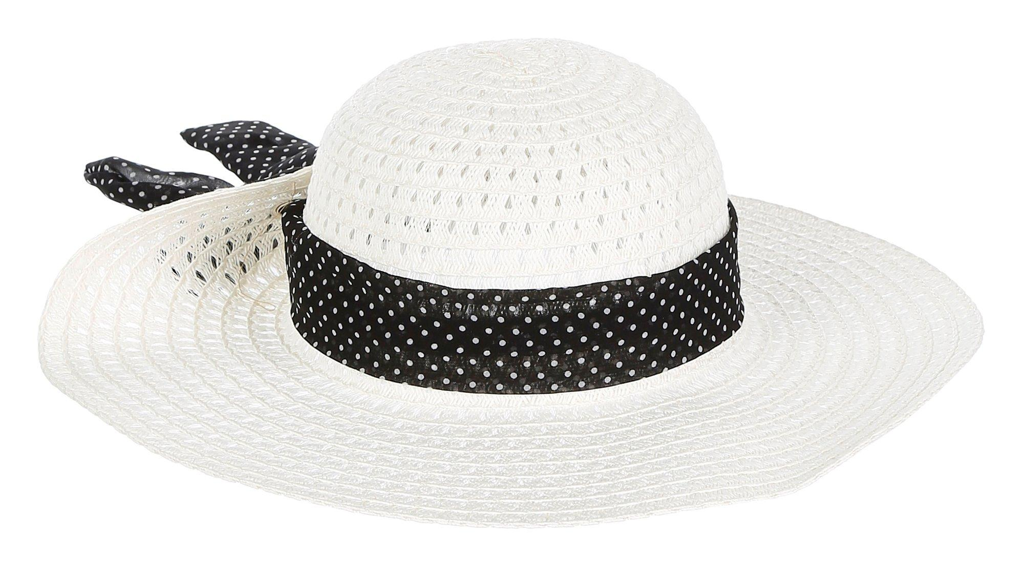 d32fd469565f4 Zebra Stripe Woven Cowboy Hat - Natural Black