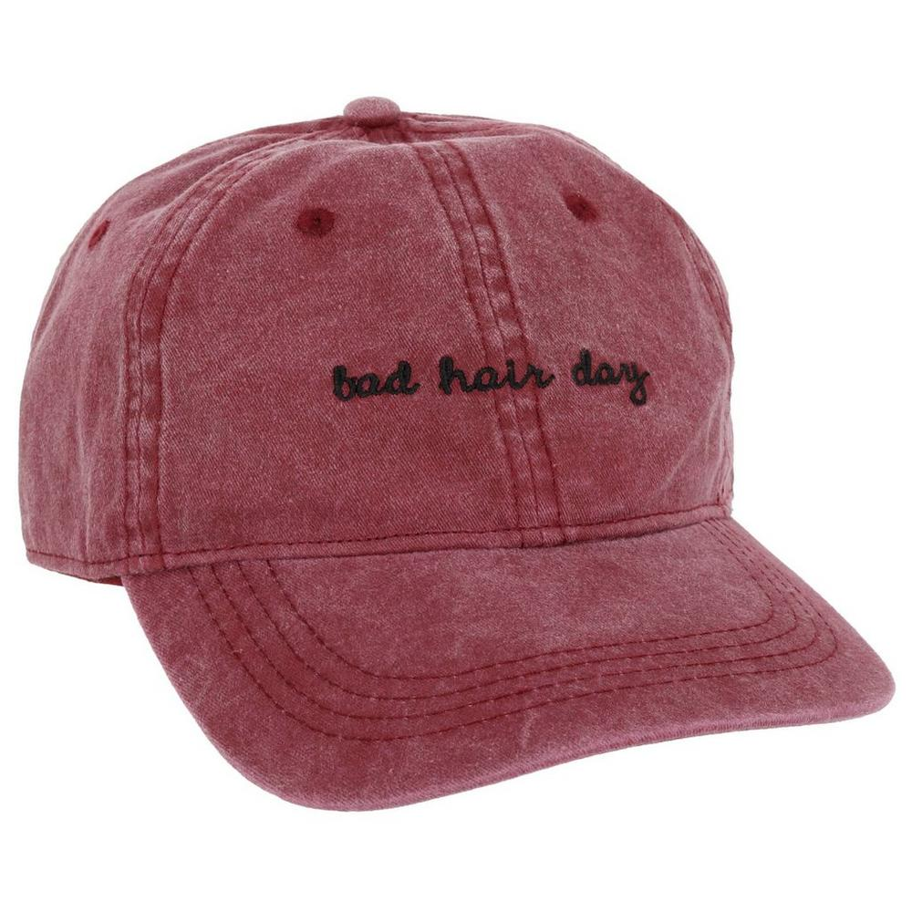 4d82c9cad9df6c Bad Hair Day Cap - Burgundy | Burkes Outlet