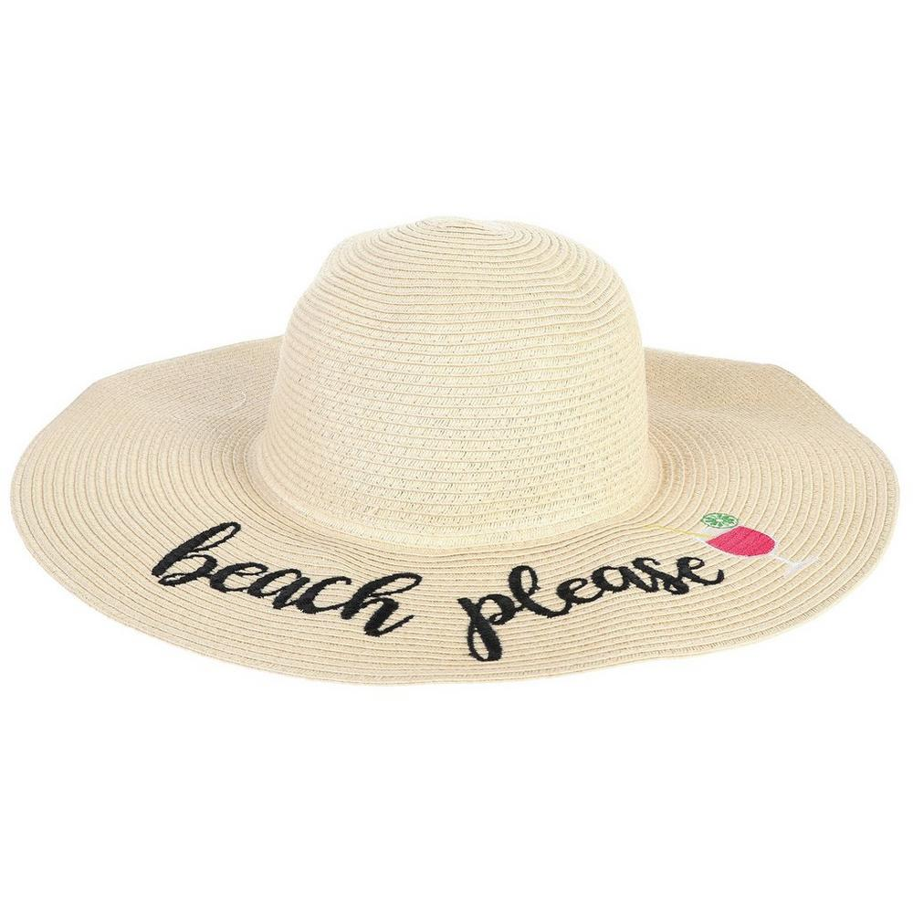 1ce1af06 Beach Please Floppy Hat | Burkes Outlet