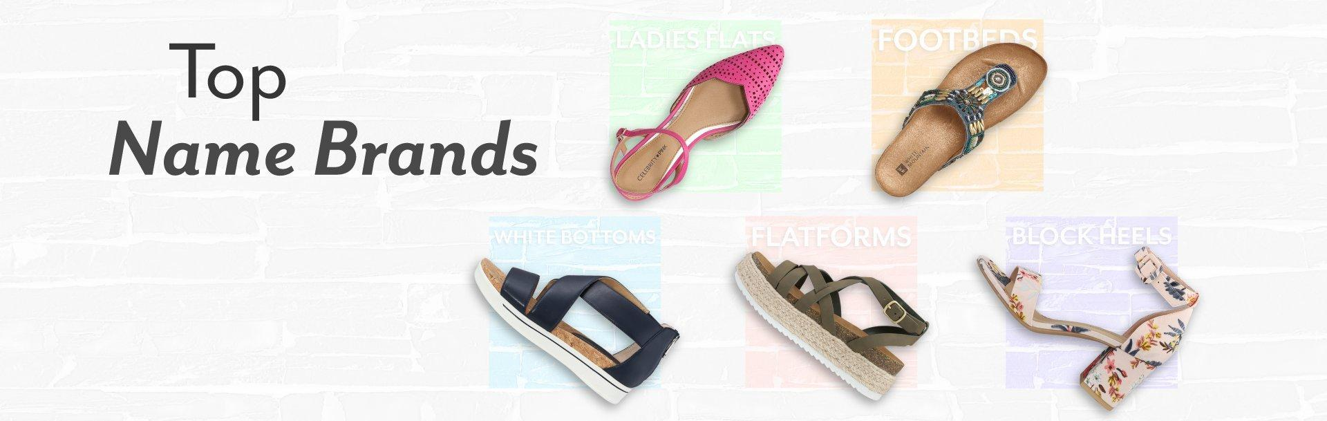 526d30b85b69 Shop top brand names in shoes for the whole family at prices you ll love.  Shop Women s Shoes