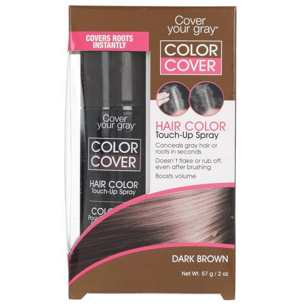 Hair Color Touch Up Spray Dark Brown