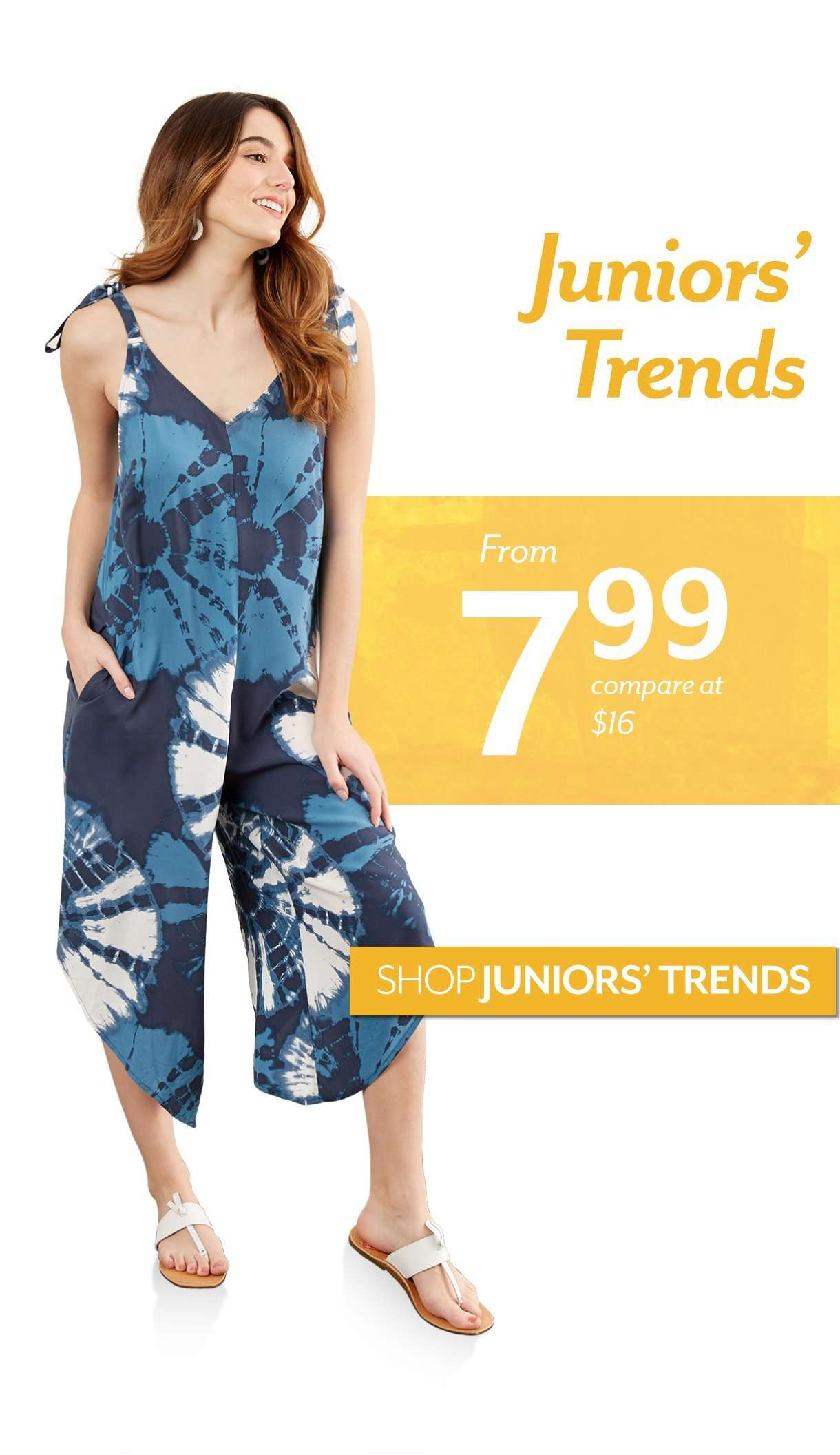 Juniors' Trends starting at $7.99