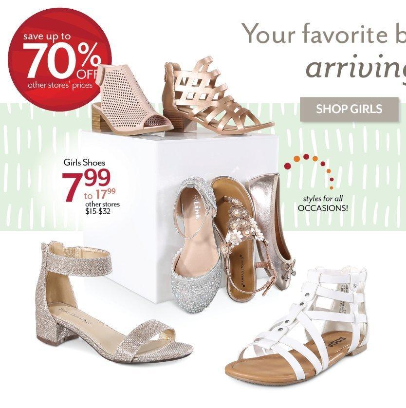 Shop Girl Shoes