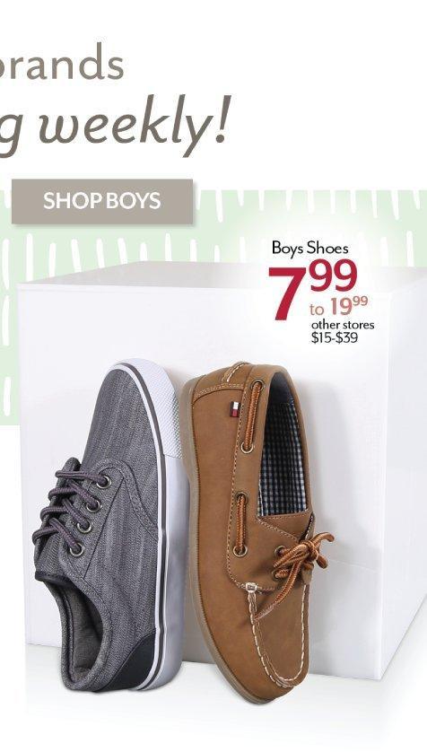Shop Boy Shoes