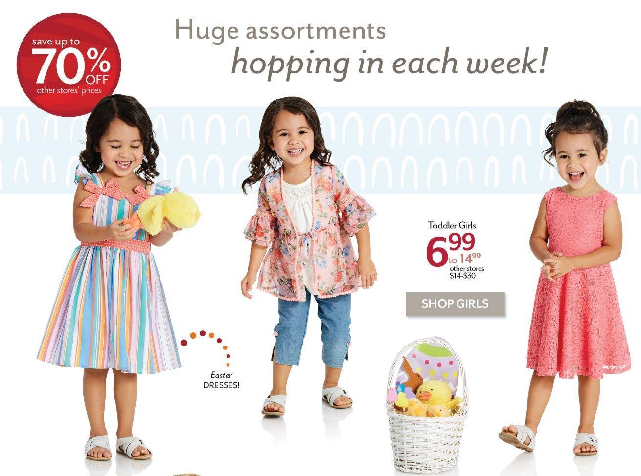 Shop Toddler Girls