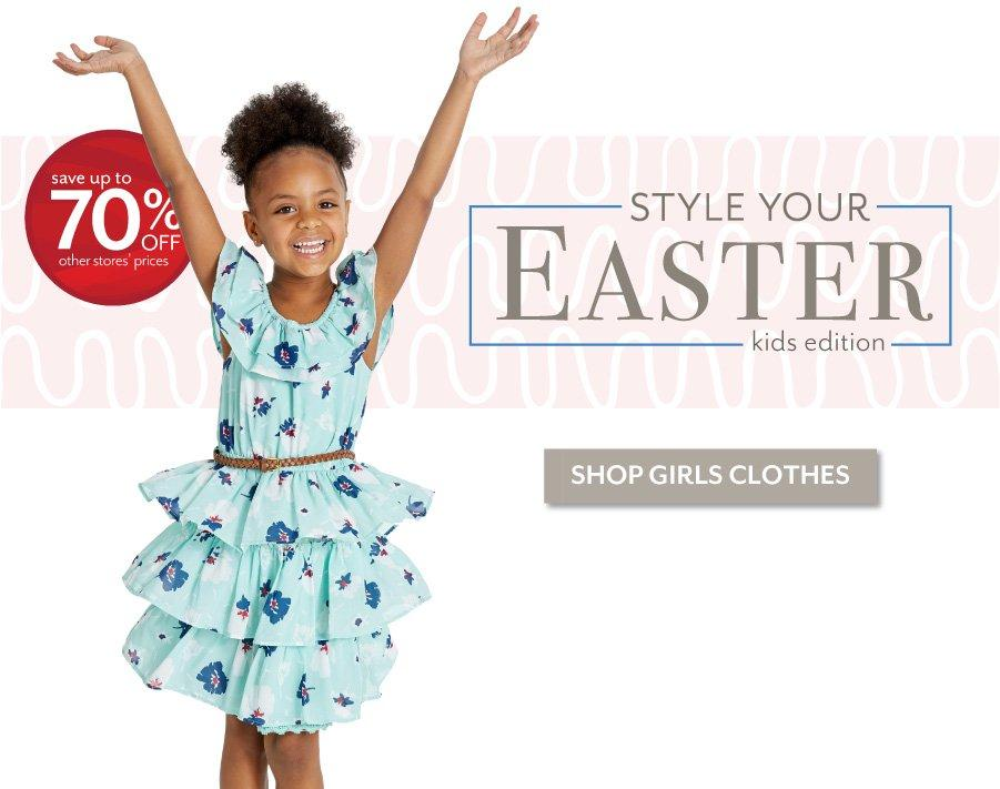 Style Your Easter - Shop the latest styles for Girls at Burkes Outlet