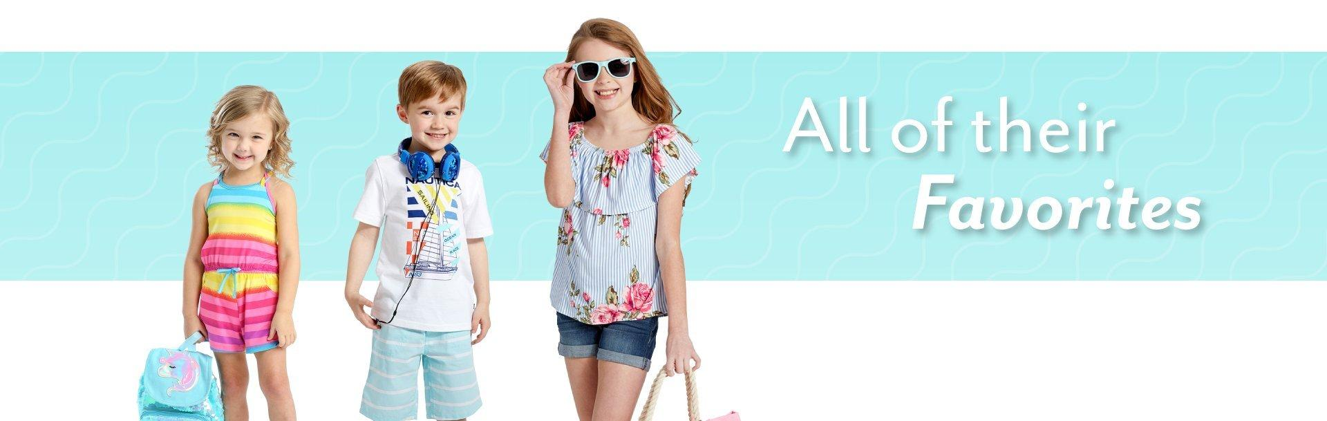 e522b83a4 Kids' Clothes, Baby Clothes, Toys | Burkes Outlet