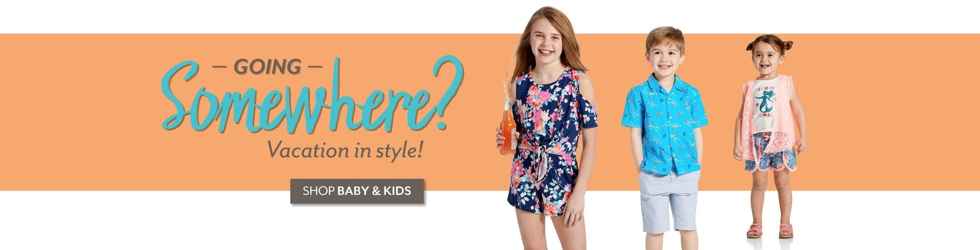 Going Somewhere? - Shop Baby and Kids at Burkes Outlet