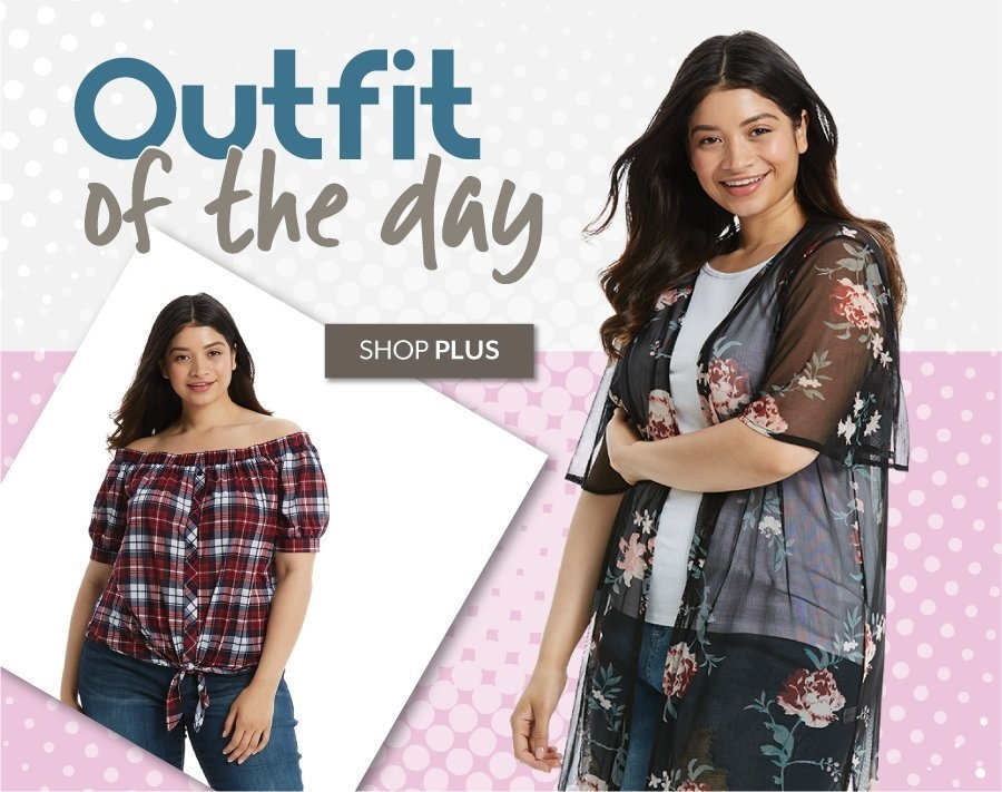 Outfit of the Day - Shop Plus at Burkes Outlet