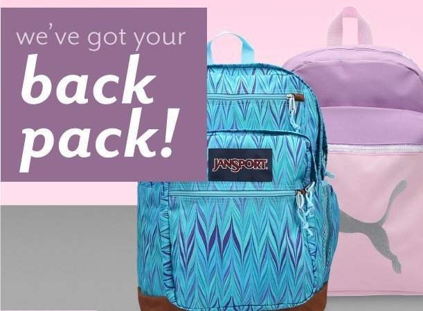 Shop Backpacks at Burkes Outlet