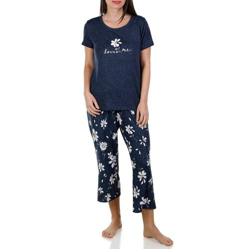 87d93f1075c Women s Loves Me 2 Pc Pajama Set - Blue