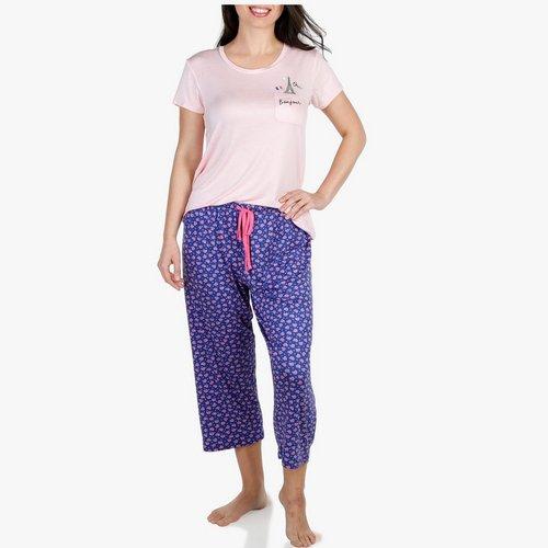 b2c71690b Women s Bonjour 2 Pc Pajama Set - Multi