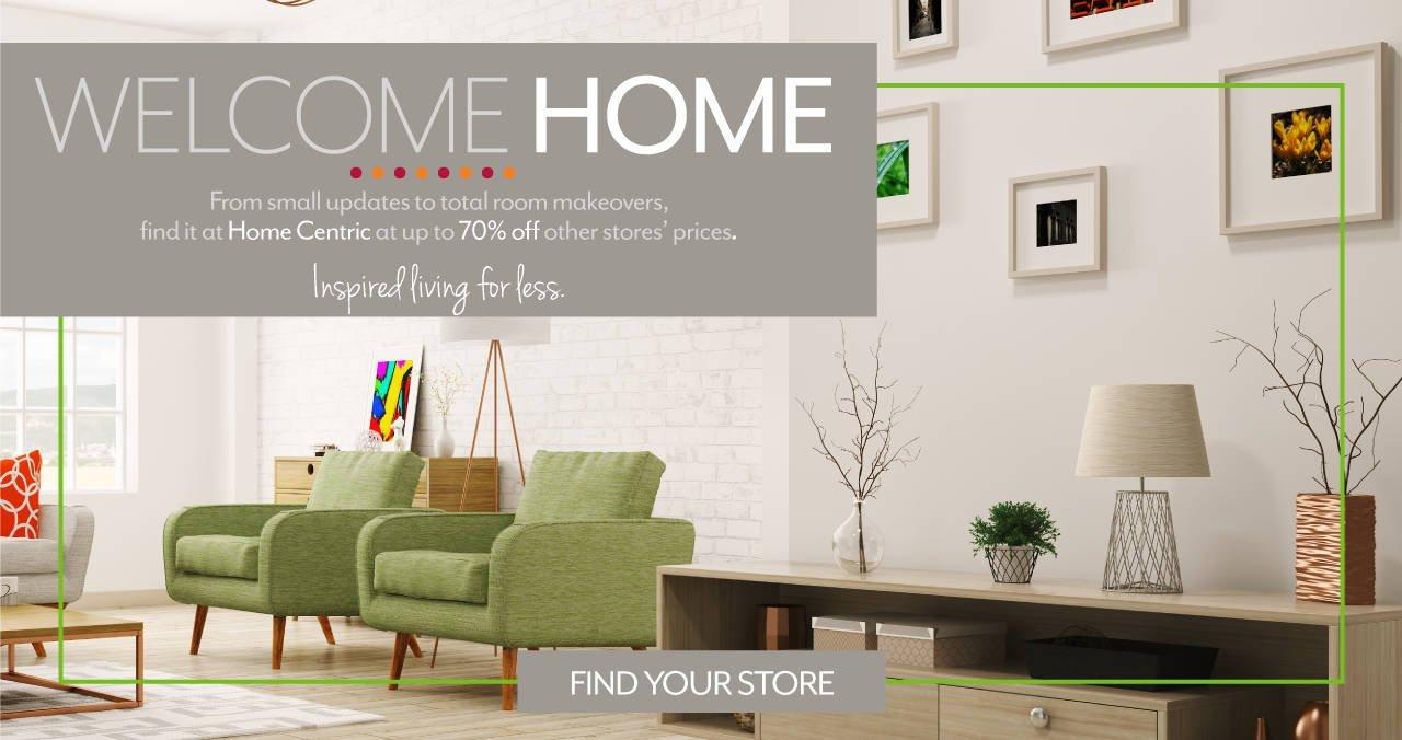 Welcome Home - inspired living for less!