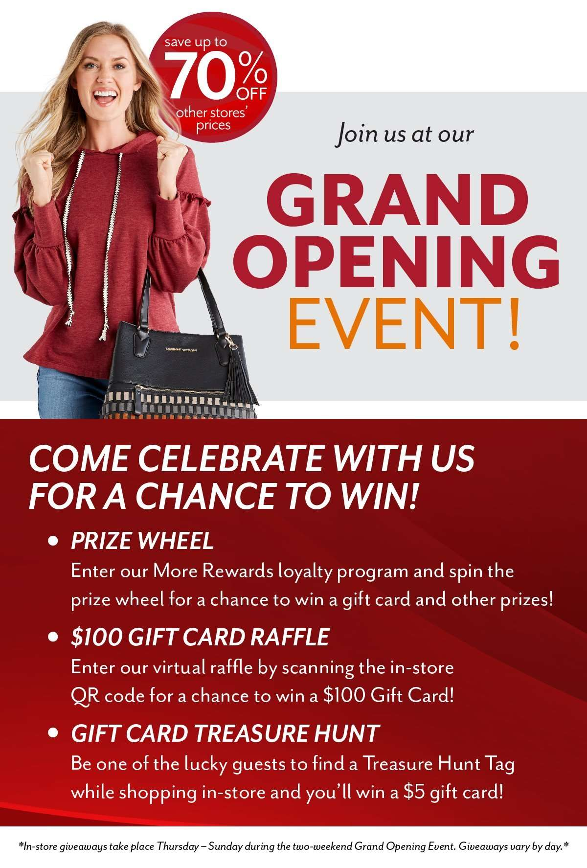 Grand Opening Celebrations at Bealls Outlet!