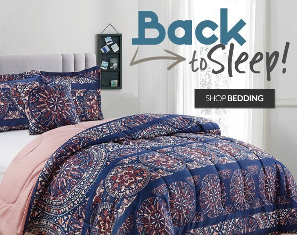 Back to Sleep - Shop Bedding at Burkes Outlet
