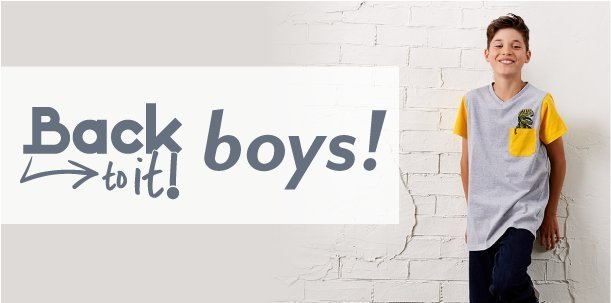Shop Boys at Burkes Outlet