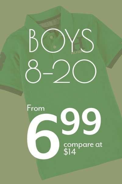 Boys 8-20