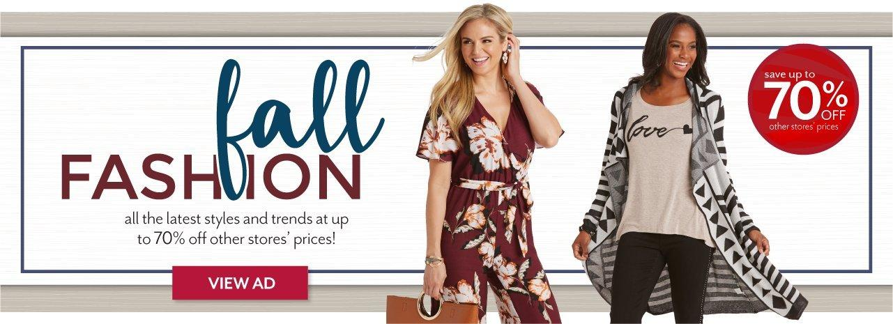 Shop Women's fall clothing styles at Burkes Outlet