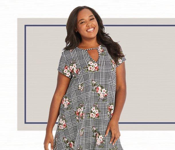 Shop Women's plus size clothing at Burkes Outlet